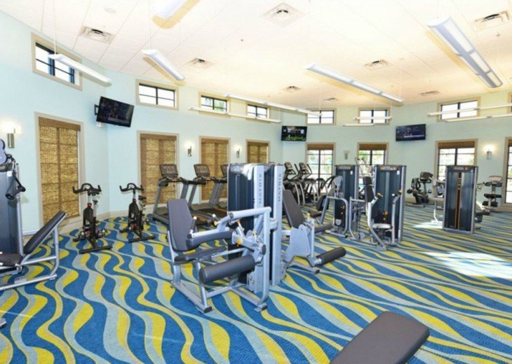 Exercise room at Oasis Club (included - no charge)