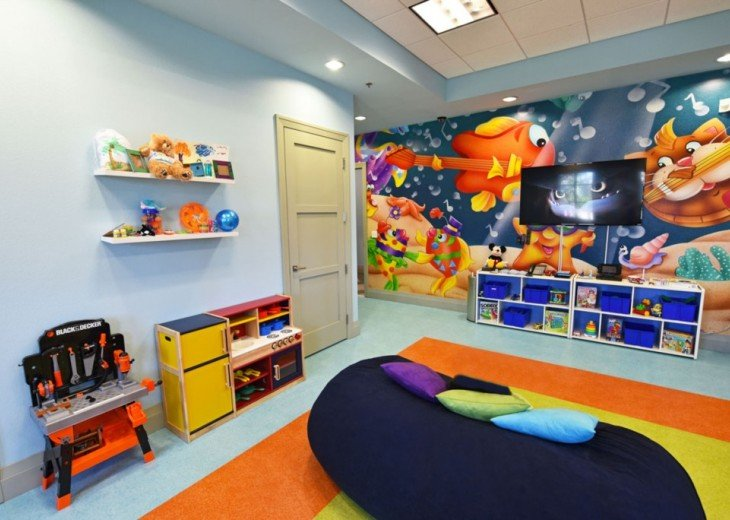 Childrens play room Oasis Club (included - no charge)