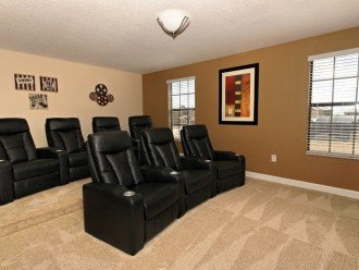 2nd floor large theatre room with 65