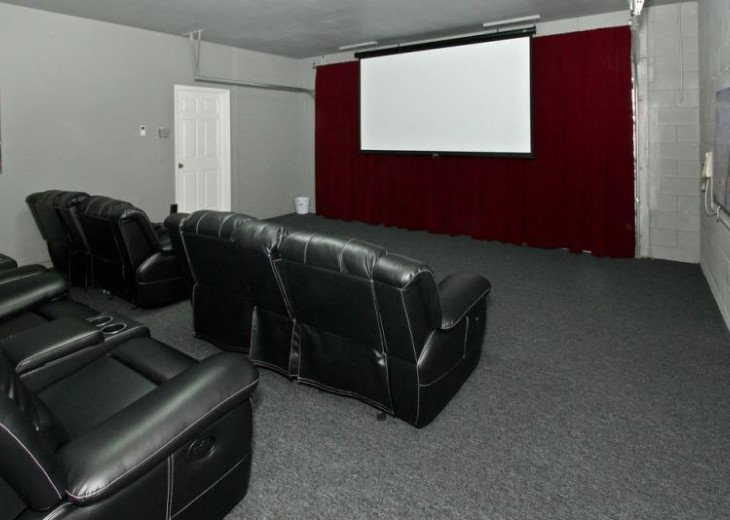 Luxury 8BR MOVIE THEATER-W/Solar Heated Oversize Pool/Spa/Near Disney/forestView #21