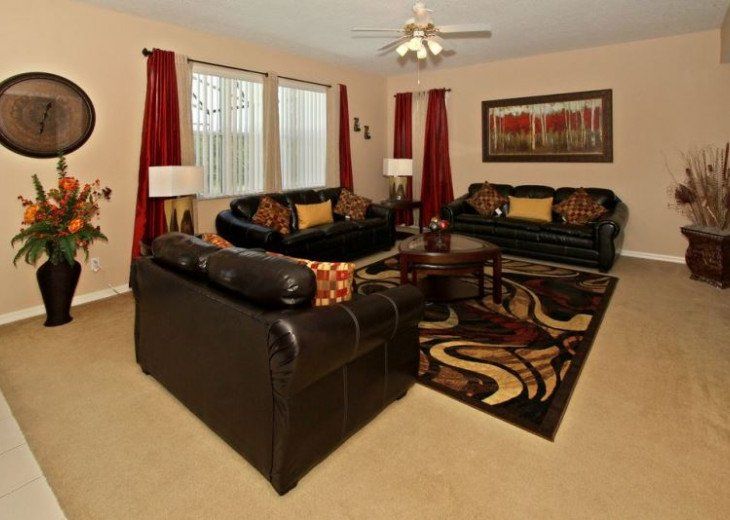 Luxury 8BR MOVIE THEATER-W/Solar Heated Oversize Pool/Spa/Near Disney/forestView #19