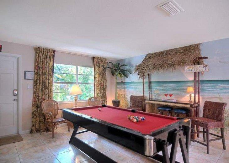 Pool Table Tiki Bar 4 King beds Sleeps 14 #14