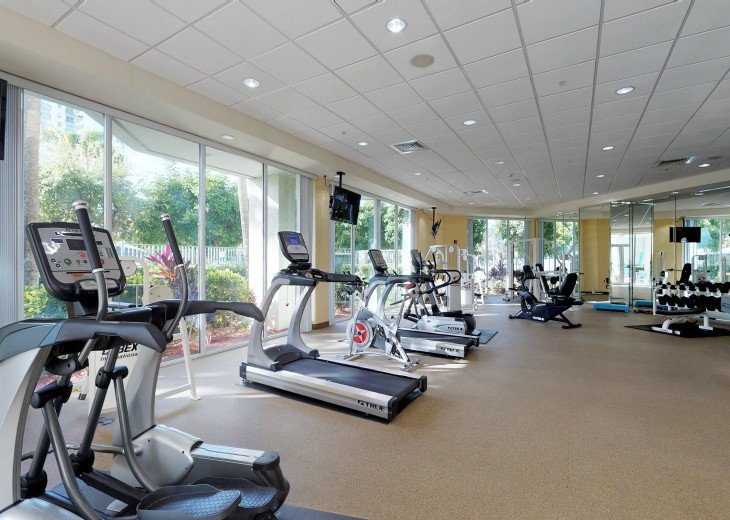 Fitness Center (Fully Equipped & Separate Social Room)