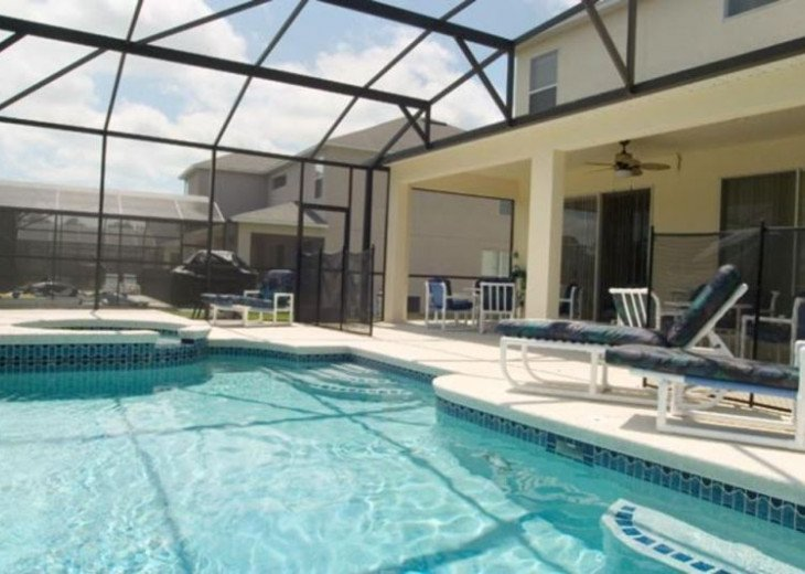 Pool Home near Disney, 6-7 Bed w/Unique Childs Slumber Rm #7