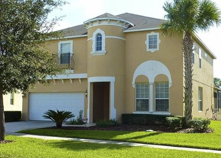 Pool Home near Disney, 6-7 Bed w/Unique Childs Slumber Rm #1