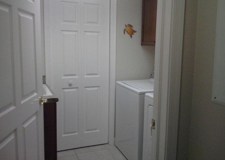 Private Inside Laundry room