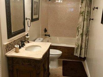 Master bath with whirlpool tub