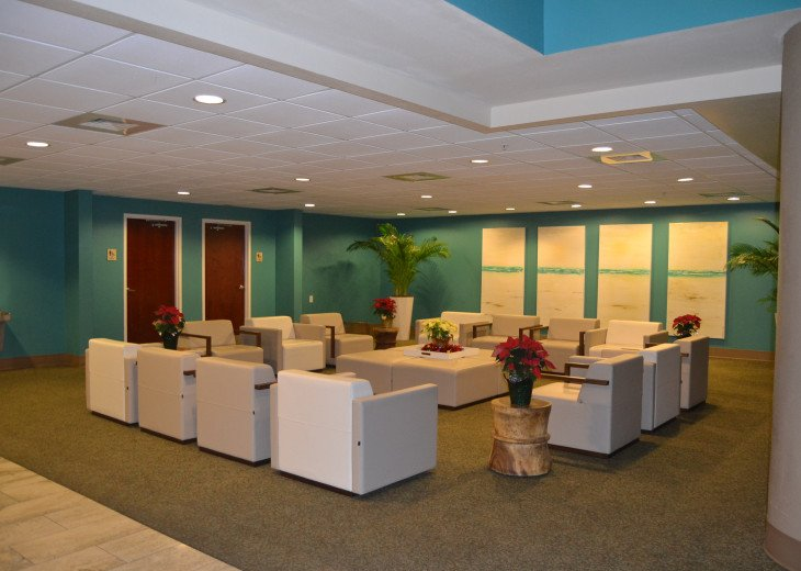 Amenities Building Lobby/Seating Area