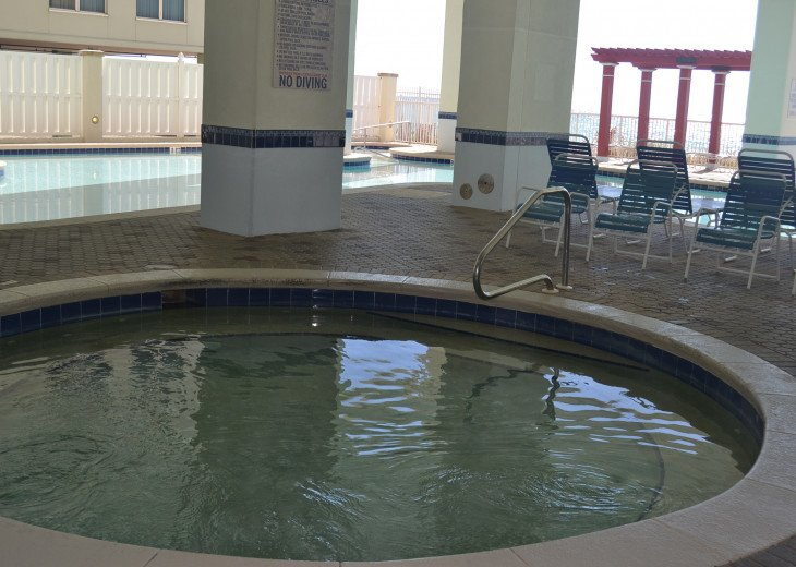 Tower 2 Hot Tub