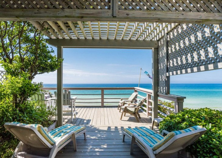 This Listing is no longer Available - GULF FRONT HOME 87 ft PRIVATE BEACH #2