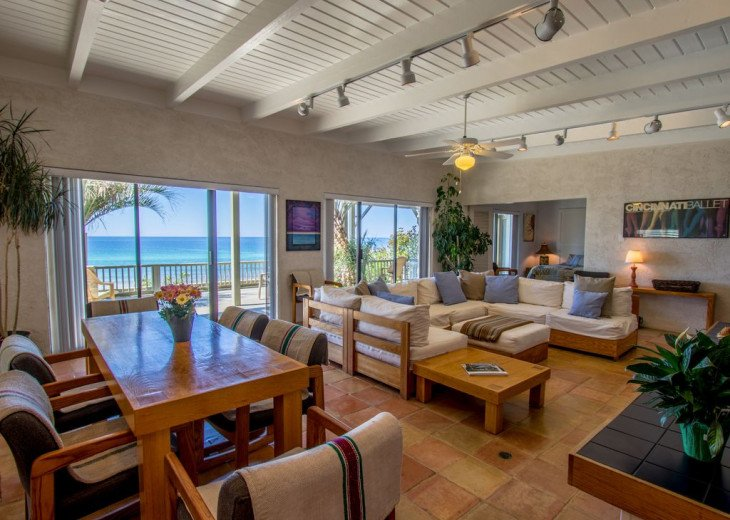 This Listing is no longer Available - GULF FRONT HOME 87 ft PRIVATE BEACH #7