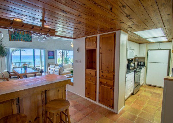 This Listing is no longer Available - GULF FRONT HOME 87 ft PRIVATE BEACH #15