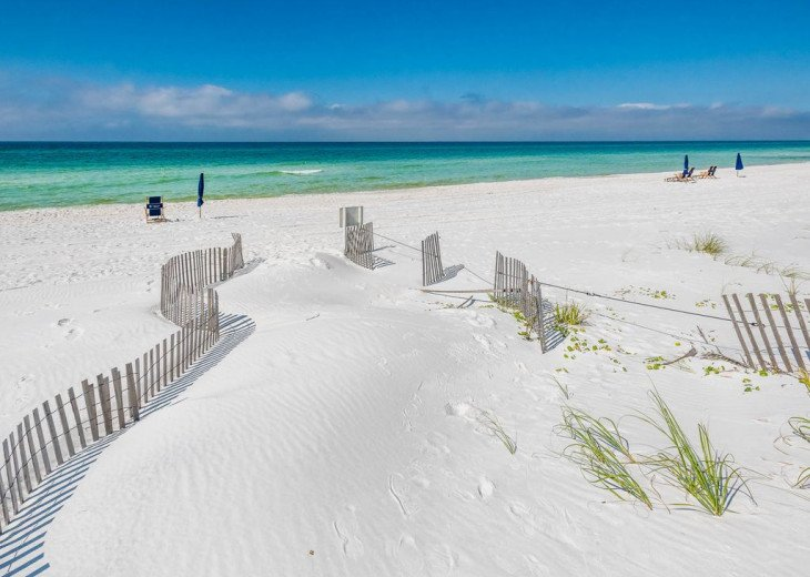 This Listing is no longer Available - GULF FRONT HOME 87 ft PRIVATE BEACH #21