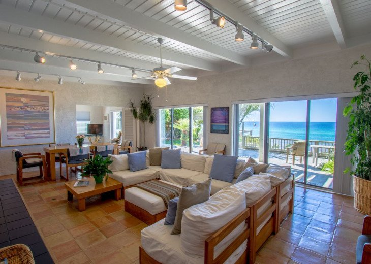 This Listing is no longer Available - GULF FRONT HOME 87 ft PRIVATE BEACH #4