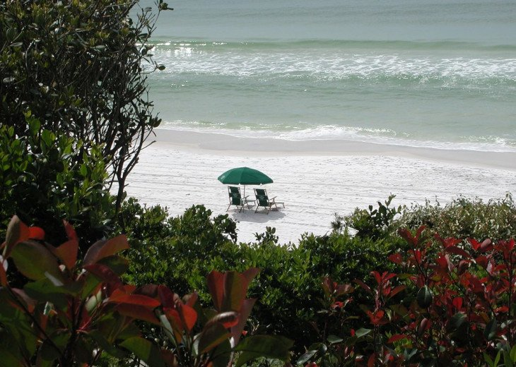 This Listing is no longer Available - GULF FRONT HOME 87 ft PRIVATE BEACH #3
