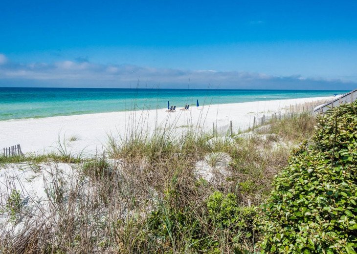 This Listing is no longer Available - GULF FRONT HOME 87 ft PRIVATE BEACH #22