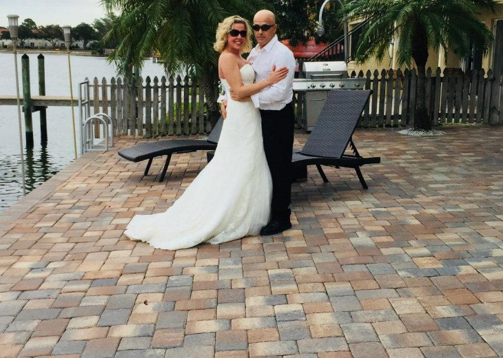 Married on Honeymoon Island and honeymooning at the CQ Gulf View!