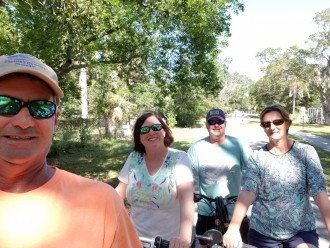 Bike ride on the Pinellas Trail