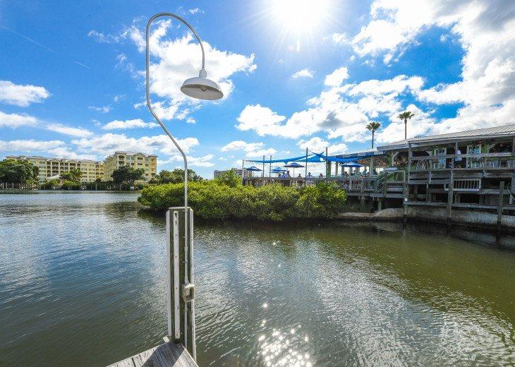 BEAUTIFUL WATERFRONT LUXURY Condo - Boat Dock - Walk to Siesta Key Beach!! #45