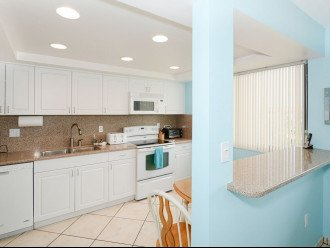 Kitchen with Smooth Top Stove, Dishwasher, OTR Microwave, Toaster Oven