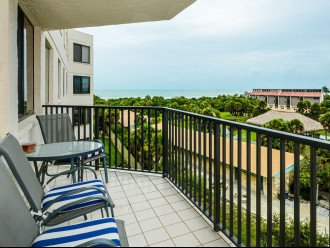 View of Gulf of Mexico from the Balcony