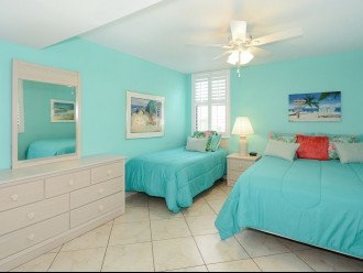 2nd Bedroom with Queen and Twin Beds
