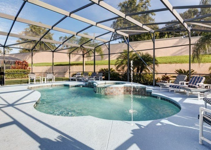 Stunning 6 BR/6 BA Pool and A/C Games Room Villa #4
