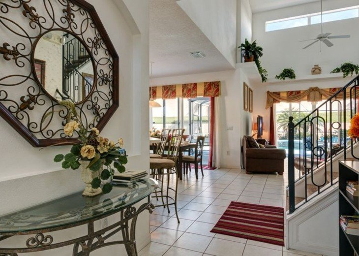 Stunning 6 BR/6 BA Pool and A/C Games Room Villa #20