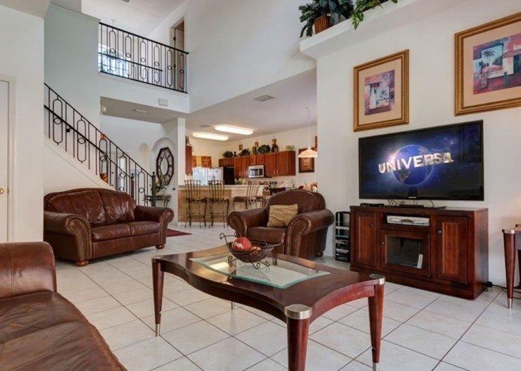Stunning 6 BR/6 BA Pool and A/C Games Room Villa #16