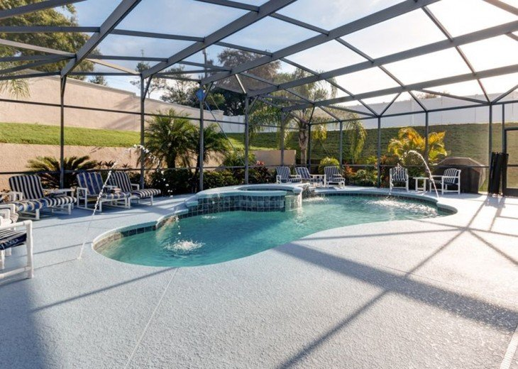 Stunning 6 BR/6 BA Pool and A/C Games Room Villa #2