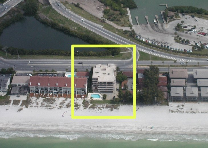 Indian Shores-Penthouse Condo Direct on Beach #25