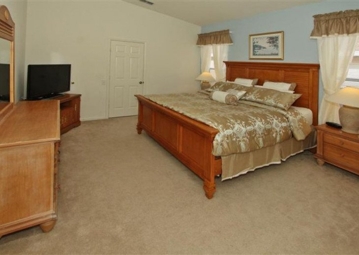 Tropical Palms-Windsor Palms Resort Villa 3 Miles to Disney in Guarded Community #12