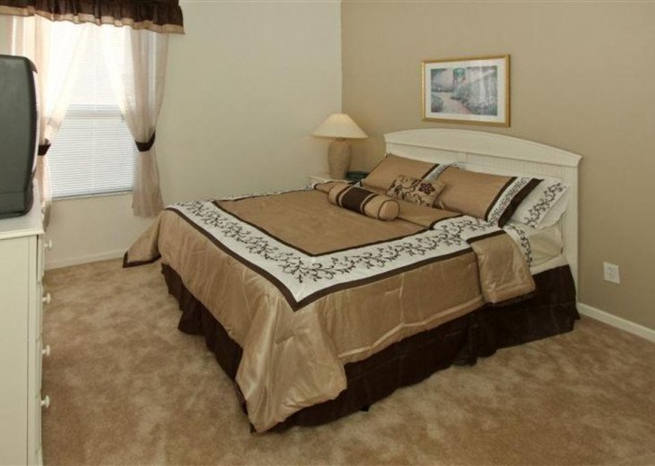 Tropical Palms-Windsor Palms Resort Villa 3 Miles to Disney in Guarded Community #15