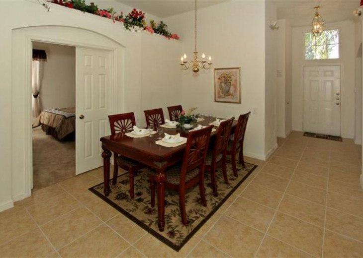 Tropical Palms-Windsor Palms Resort Villa 3 Miles to Disney in Guarded Community #6