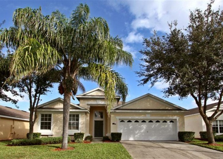 Tropical Palms-Windsor Palms Resort Villa 3 Miles to Disney in Guarded Community #2