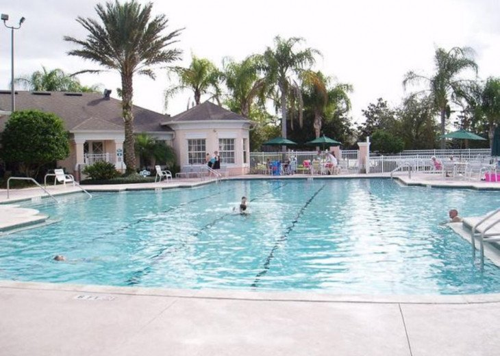 Tropical Palms-Windsor Palms Resort Villa 3 Miles to Disney in Guarded Community #20