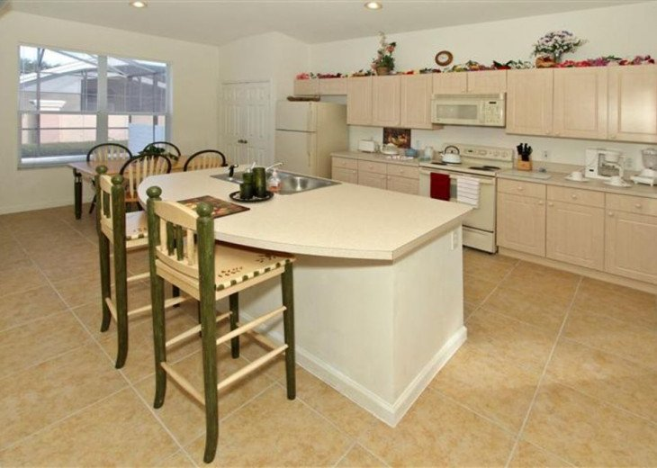 Tropical Palms-Windsor Palms Resort Villa 3 Miles to Disney in Guarded Community #9