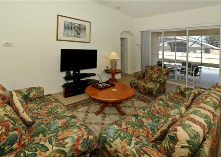 Tropical Palms-Windsor Palms Resort Villa 3 Miles to Disney in Guarded Community #7
