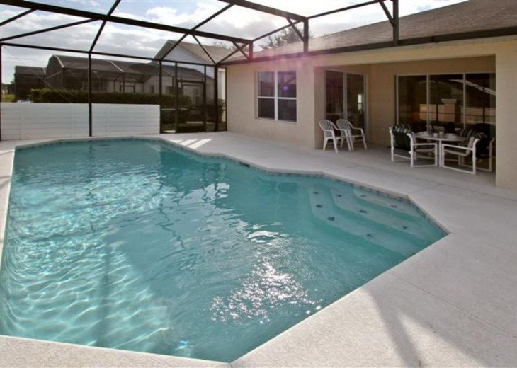 Tropical Palms-Windsor Palms Resort Villa 3 Miles to Disney in Guarded Community #4
