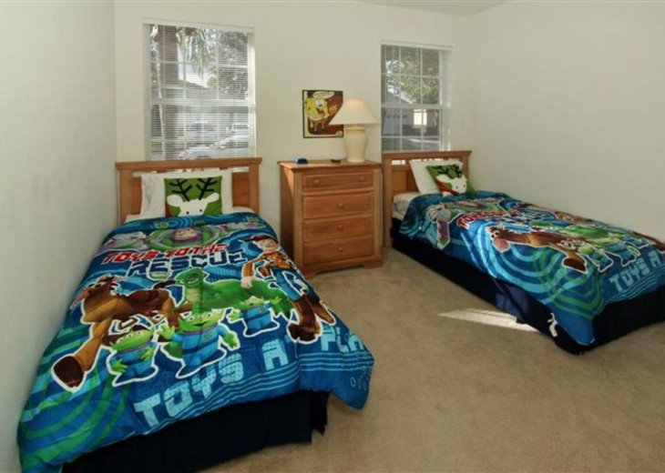 Tropical Palms-Windsor Palms Resort Villa 3 Miles to Disney in Guarded Community #16