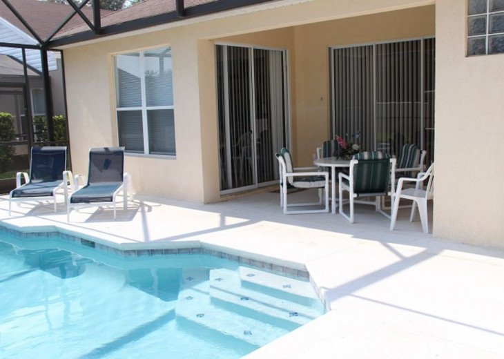 Tropical Palms-Windsor Palms Resort Villa 3 Miles to Disney in Guarded Community #24