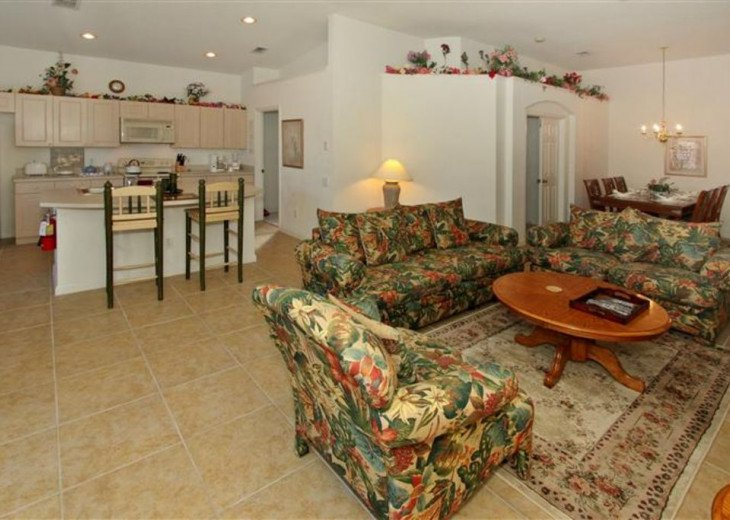 Tropical Palms-Windsor Palms Resort Villa 3 Miles to Disney in Guarded Community #8