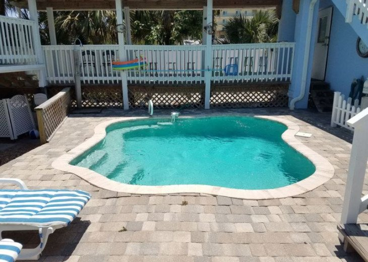 Oceanfront Cocoa Beach Cottage with Pool & Private Beach Access, Sleeps 10 #2