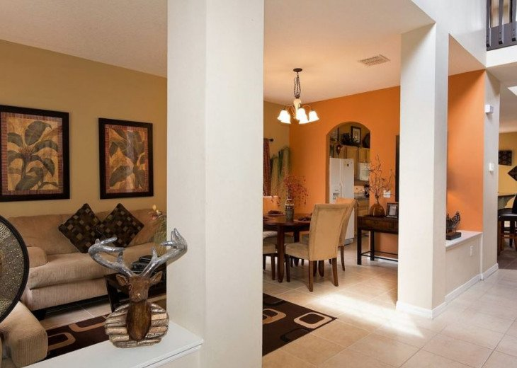 Luxury executive villa near Disney World in a gated community, WELCOME HOME #3