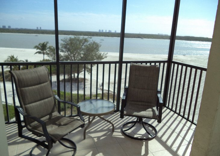 Oversize 5th Floor Corner Unit Directly On The Beach in Carlos Pointe 511 #3