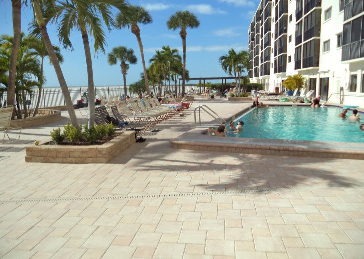 Oversize 5th Floor Corner Unit Directly On The Beach in Carlos Pointe 511 #17