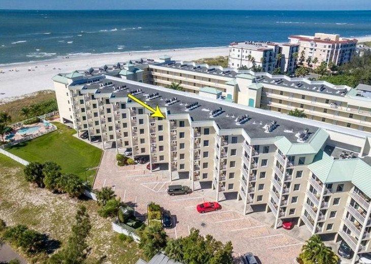 Sunset Vistas Top Floor Gulf View Beachfront King in Master & New Appliances! #23