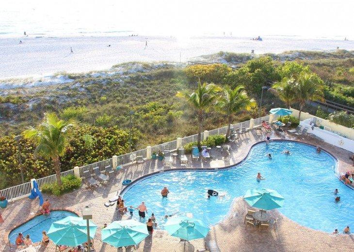 Sunset Vistas Top Floor Gulf View Beachfront King in Master & New Appliances! #41