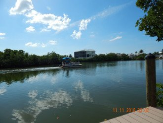 Estero Bay - view from private boat dock