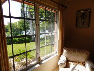 view of Estero Bay from Master Bedroom